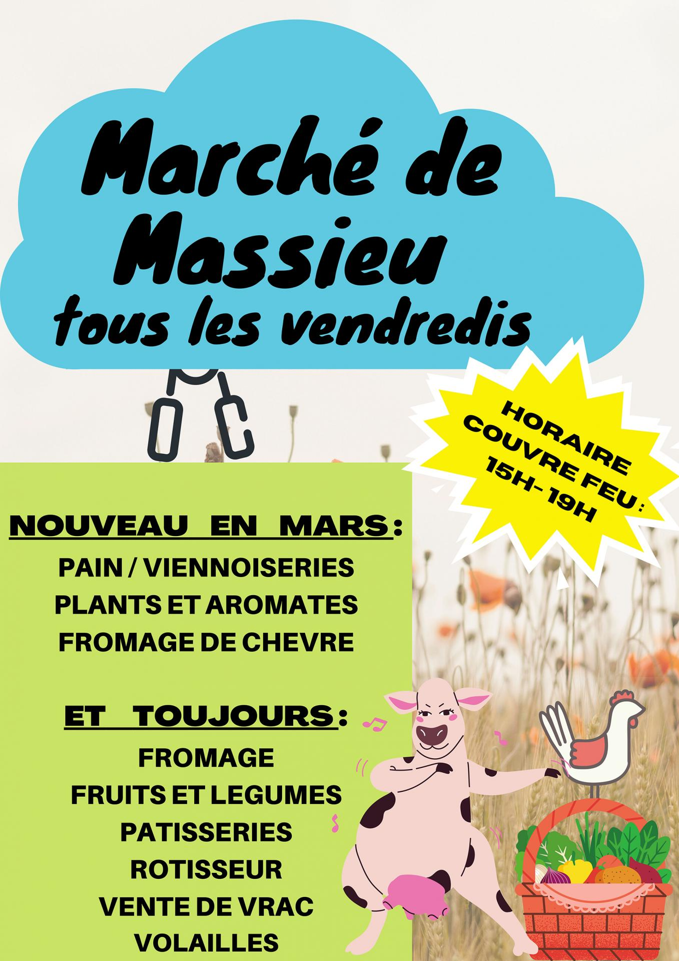 Affiche marche mars