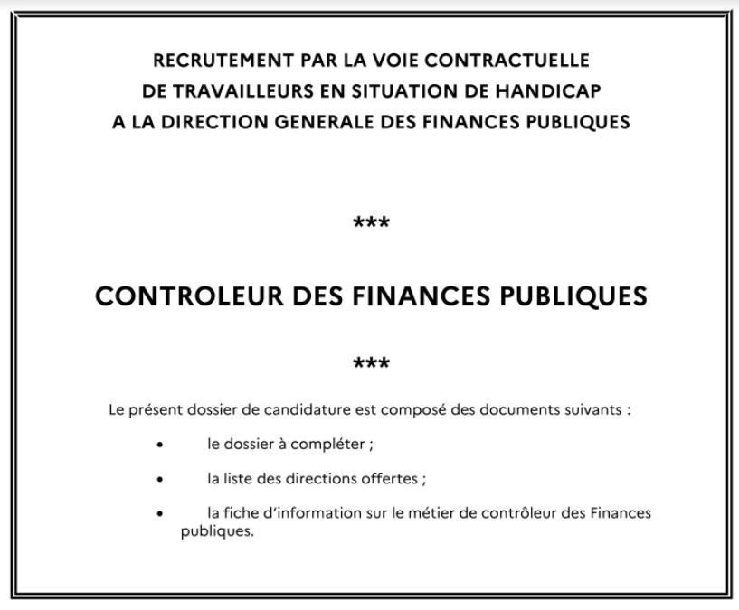 Controleur des finances publics