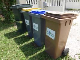 Bac de tri poubelle