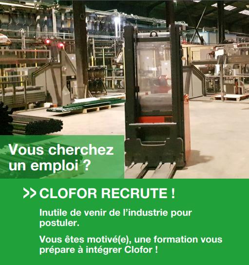Clofor recrute