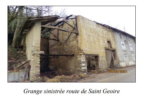 Grange sinistree