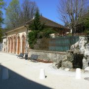Orangerie avec la fontaine