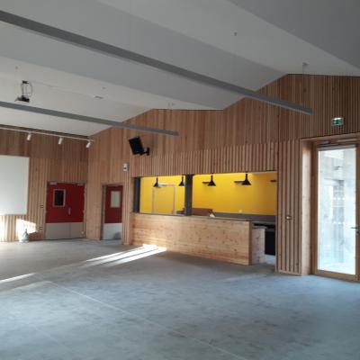 Salle polyvalente bar