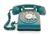 Telephone puce bleu