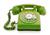 Telephone puce vert